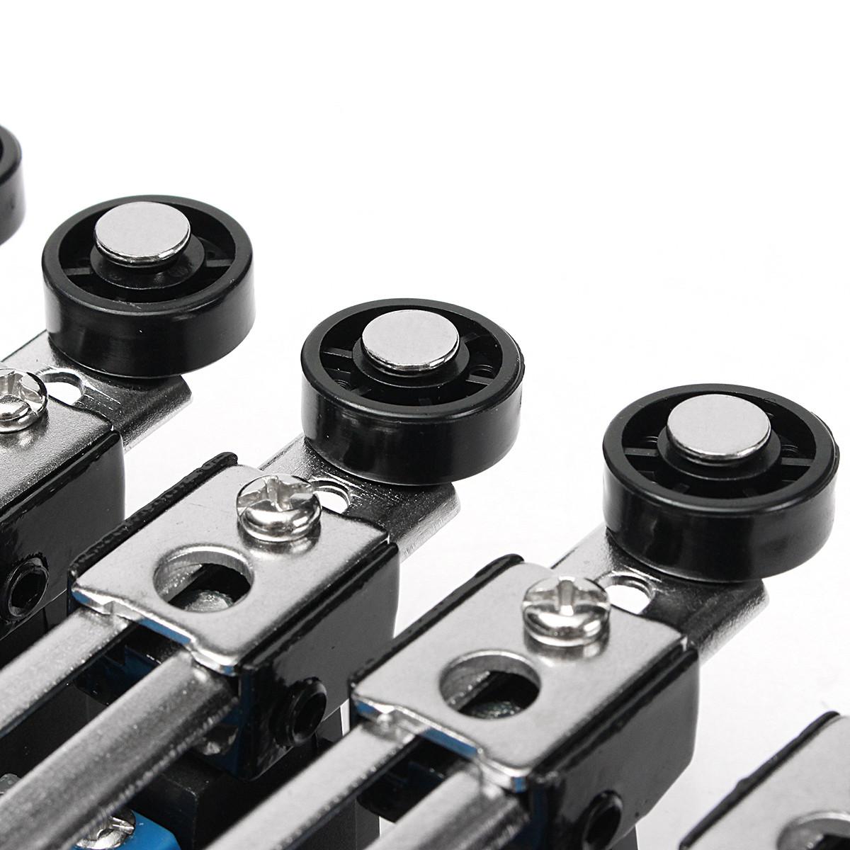 Excellway® 5шт. Предельный выключатель AC 250V 5A Регулируемый поворотный рычаг Ролик - фото 7