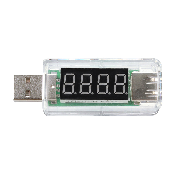 Тестер напряжения Volt Meterr USB Volt с детектором напряжения LCD Digital Дисплей Авто - фото 4