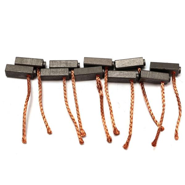 10pcs 5мм х 6 мм х 14 мм угольные щетки двигателя щетки для общего электродвигателя