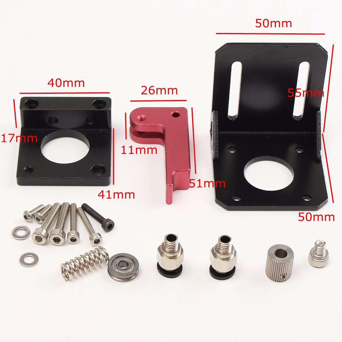 MK8 Все металлические Дистанционный экструдеры для 3D-принтеров 1.75мм филамент - фото 5