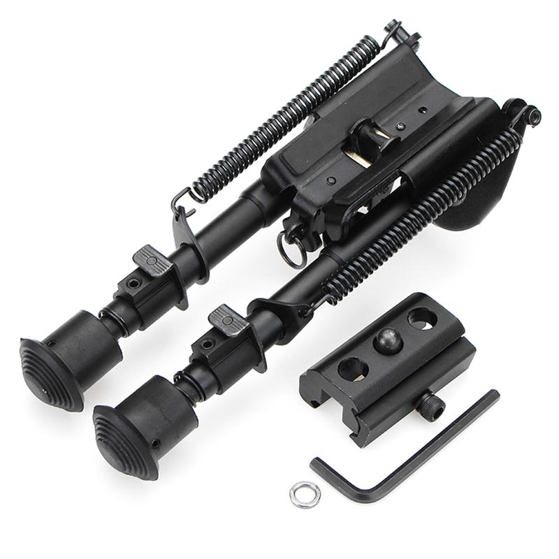 Регулируемая тактическая сопка Сошка пулемета 6-9 дюймов с пружинным креплением - фото 1