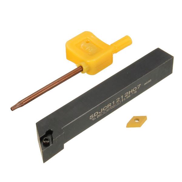 SDJCR1212H07 12x100 мм токарной держатель инструмента скучную бар с DCMT 0702 вставкой