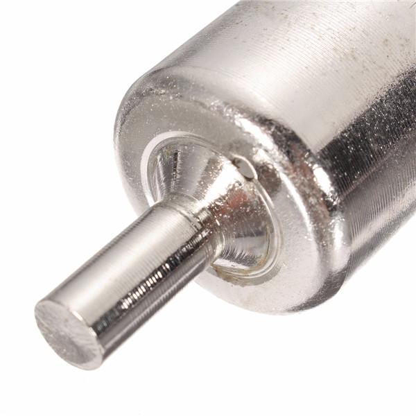 15 шт 6-50мм алмазные кольцевые сверла набор сверл для стеклокерамики фарфора мрамора - фото 8