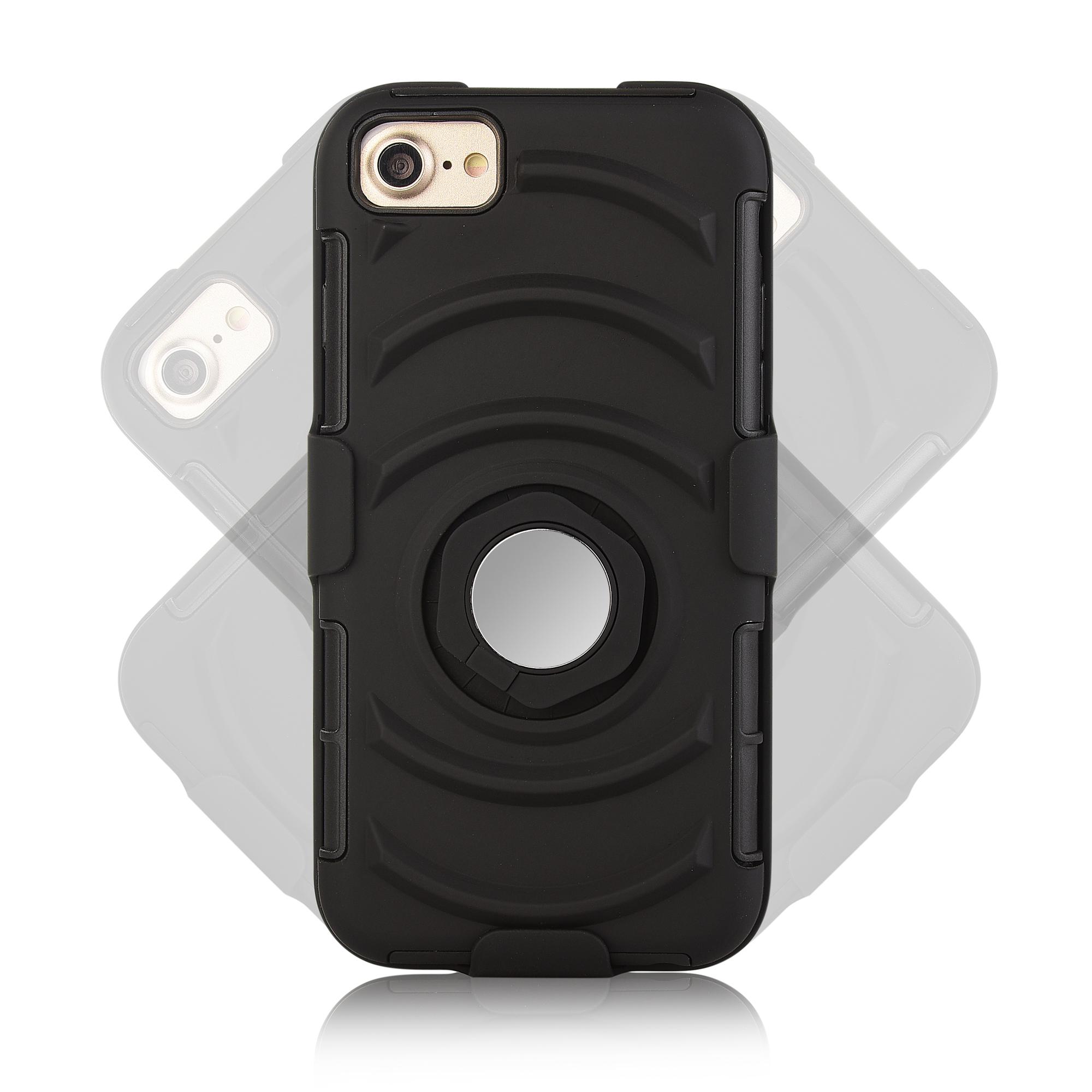 3 в 1 спортивная повязка напульсник кольцо кронштейн крышки случая магнитный телефон iPhone 7 / 6S / 6 - фото 9