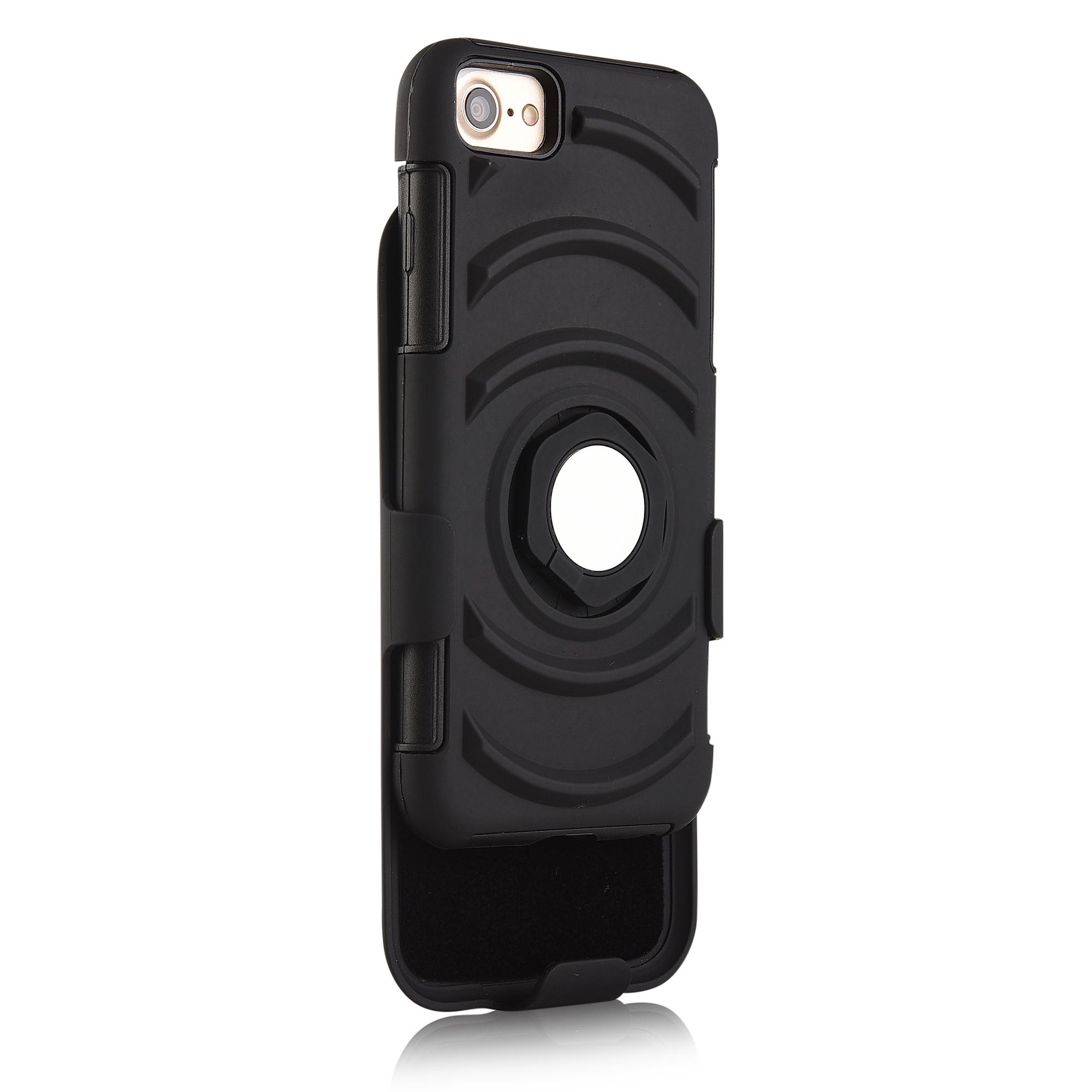 3 в 1 спортивная повязка напульсник кольцо кронштейн крышки случая магнитный телефон iPhone 7 / 6S / 6 - фото 3