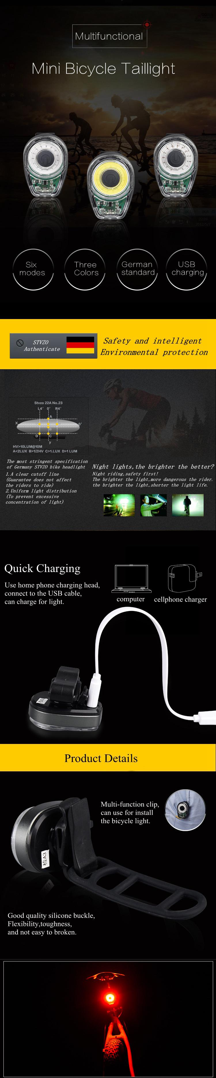 XANESКомплектдлявелосипедаLightSFL02 600LM T6 Смарт-индукционный передний свет STL02 Смартфон USB-перезаряжаемый - фото 4