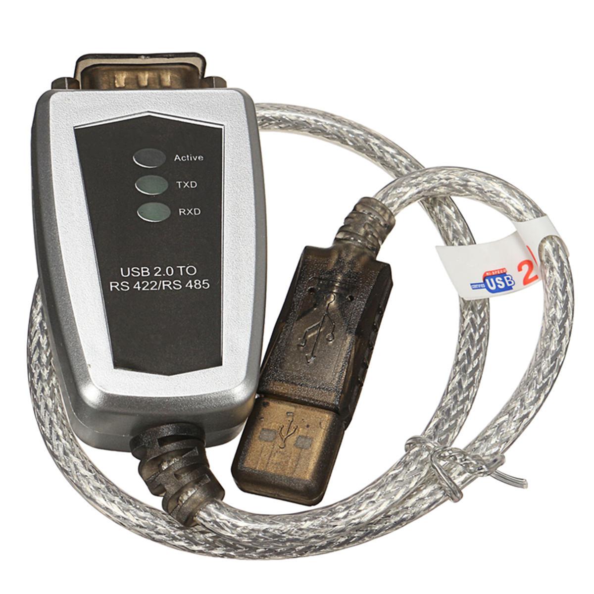USB до RS485 RS422 Последовательный DB9 к переходному кабелю последовательного преобразователя Termi - фото 2
