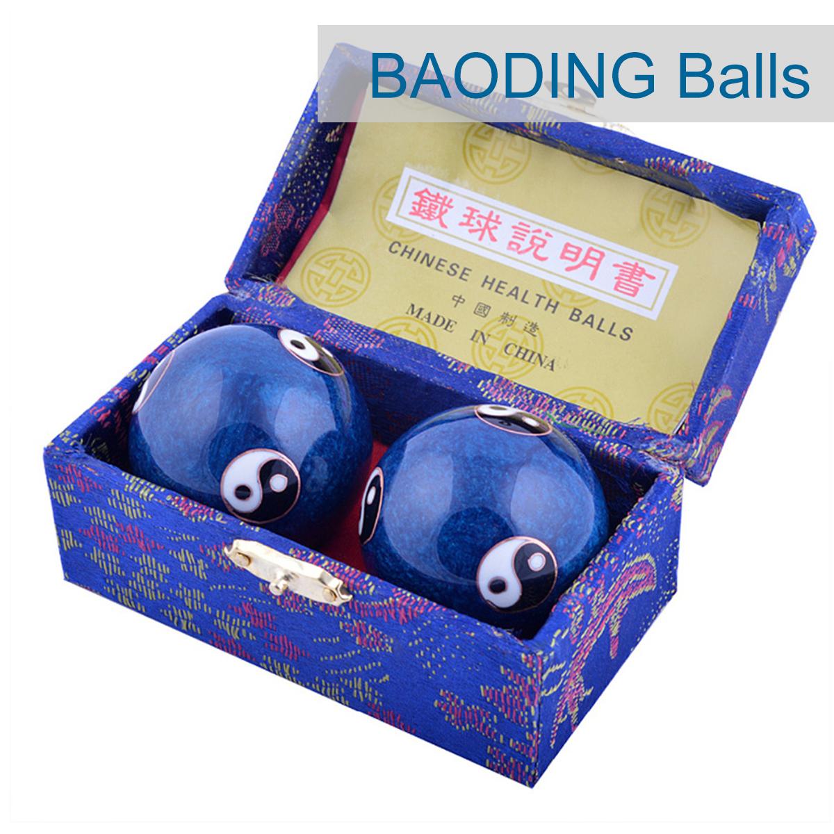 Китайский Здоровье Ball Ежедневный Упражнение Стресс Relief Гандбол Терапия Massager Balls - фото 1