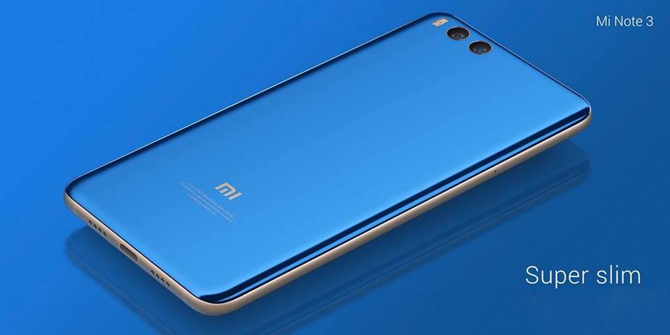 Xiaomi Mi Note 3 5,5 дюймов Распознавание лиц 6 ГБ RAM 64GB ПЗУ Snapdragon 660 2,2GHz Octa Core Smartphone