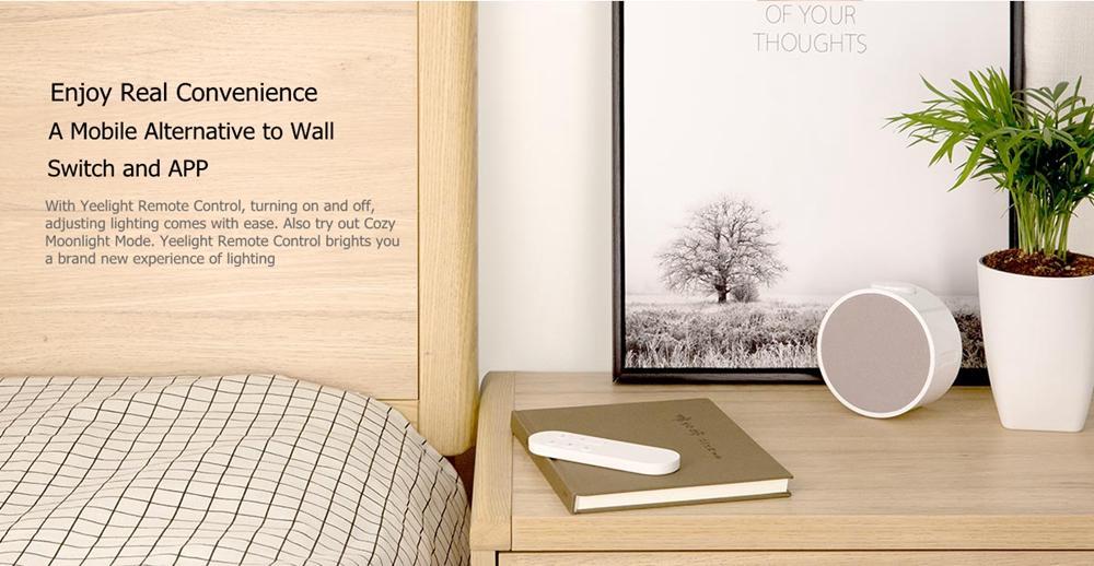 Yeelight Дистанционное Управление Передатчик для потолочного освещения Smart LED Лампа (продукт Xiaomi Ecosystem) - фото 2