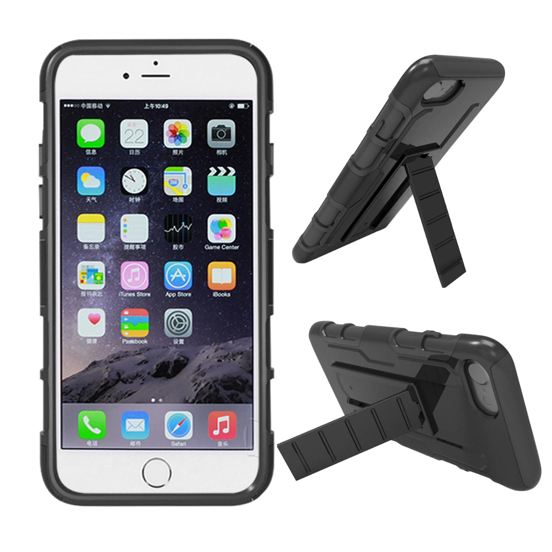 Броня регулируемая Kickstand Чехол для iPhone 7 и iPhone 8 - фото 1
