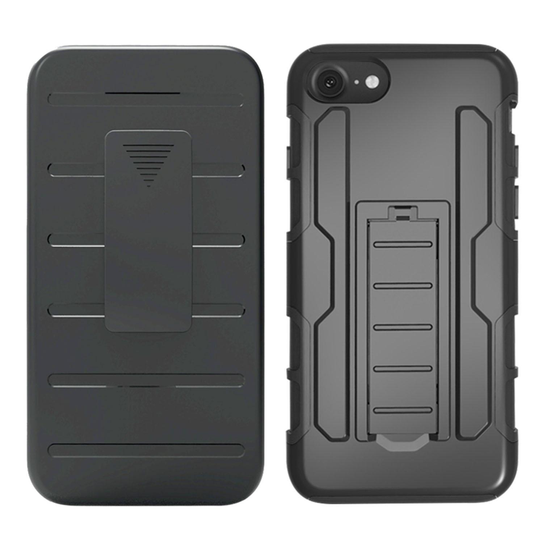 Броня регулируемая Kickstand Чехол для iPhone 7 и iPhone 8 - фото 2
