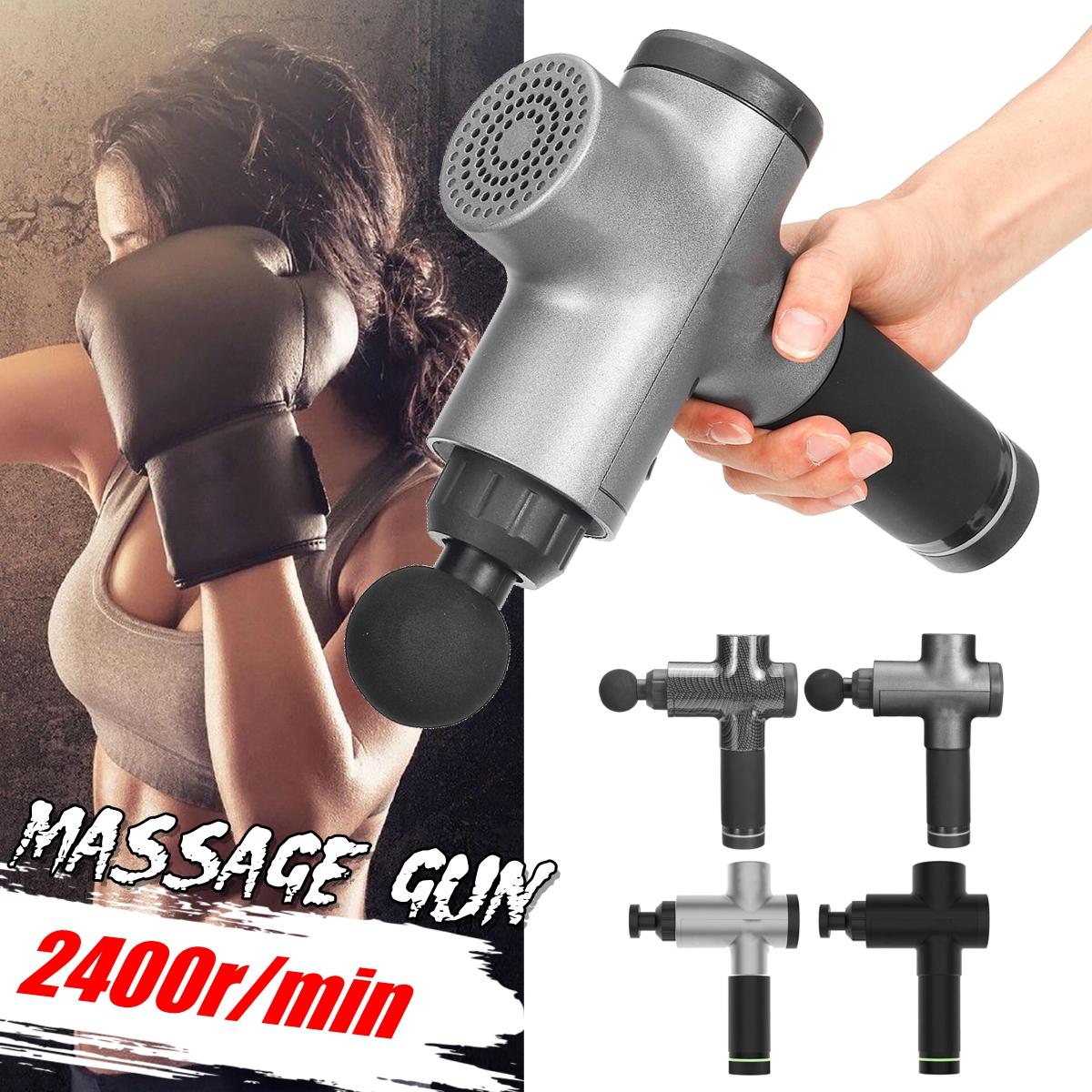 1500 мАч мышечной релаксации 3 скорости электрический массажер ударный массаж глубокий массажер ткани беспроводное устро - фото 1