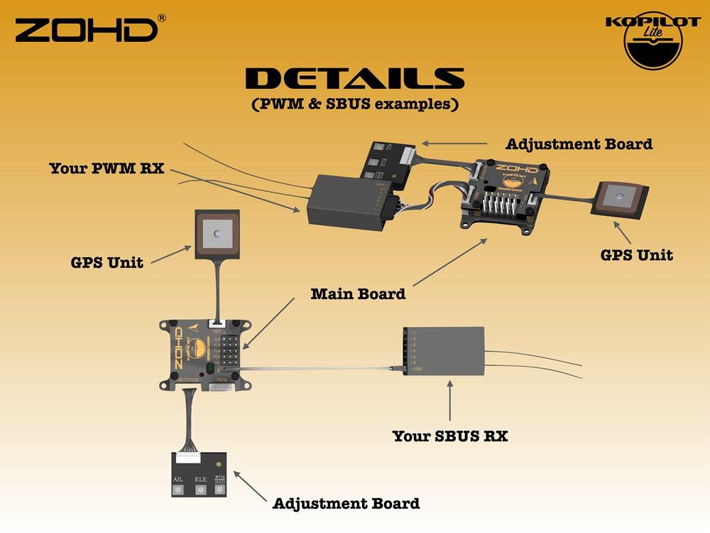 Контроллер полета ZOHD Kopilot Lite с системой автопилота с GPS модуль Возвращение домой Гироскоп стабилизации для самол - фото e6a25d7f-3799-46e8-847c-09310cda23cb.jpg
