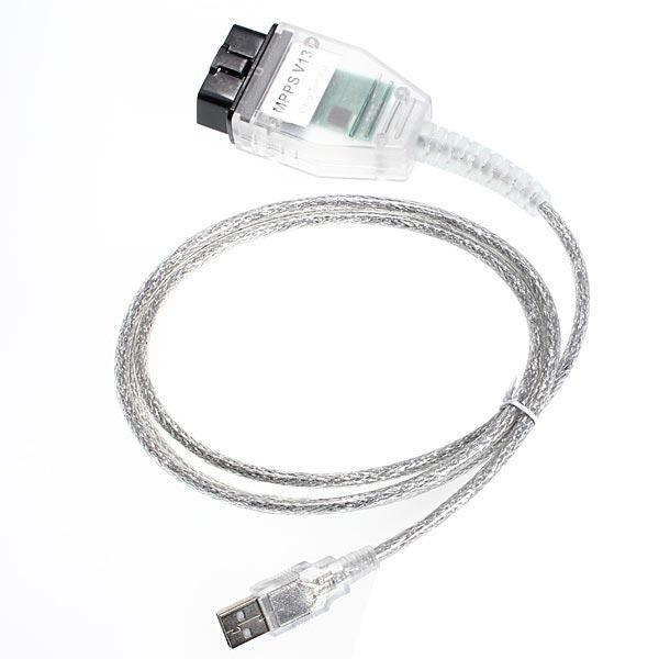 v13 и гоках.02 интерфейсу USB кабель OBD II для автомобилей VW Ауди БМВ Ситроен светосигнализатор ECU переназначения