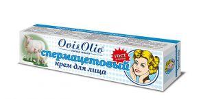 """OvisOlio ® Овечье Масло Спермацетовый крем для лица 44g - фото КРЕМ """"СПЕРМАЦЕТОВЫЙ"""" для сухой и нормальной кожи 44г"""