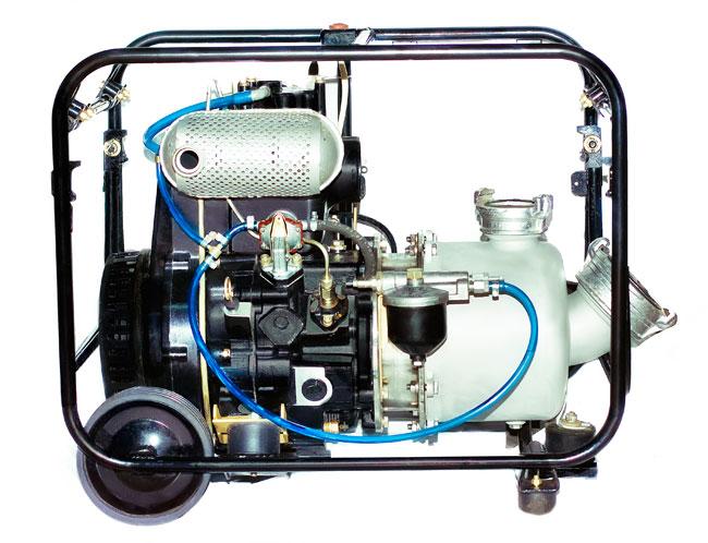 Дизель-насосные самовсасывающие агрегаты ХМс 60/25-д - фото Дизель-насосные агрегаты
