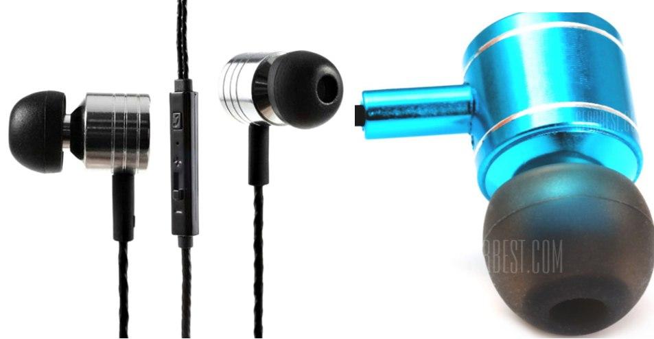Наушники с регулятором громкости Mosidun MP3