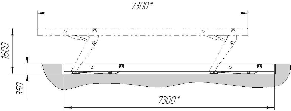24Г272М1 Подъёмник эл./гидравлический, платформенный - фото 3