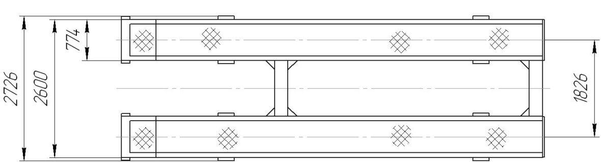 24Г272М1 Подъёмник эл./гидравлический, платформенный - фото 2