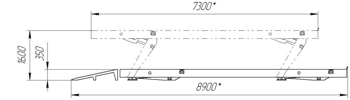 24Г272М1 Подъёмник эл./гидравлический, платформенный - фото 1
