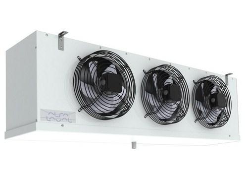 Чертеж и габаритные размеры воздухоохладителей AlfaCubic серий GL/BL/RL с тремя вентиляторами
