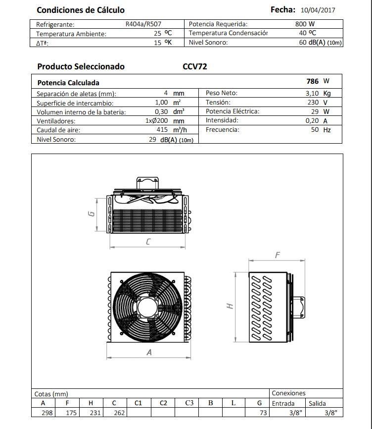Габаритный чертеж и технические характеристики CV72