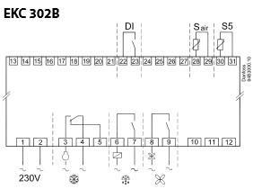 Подключение контроллера EKS 302В