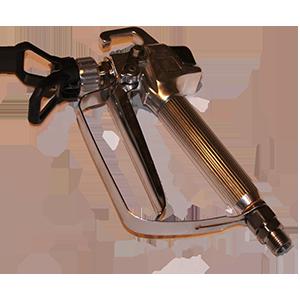 Бензиновый окрасочный аппарат безвоздушного распыления Pulsar 7000 - фото pistol_2