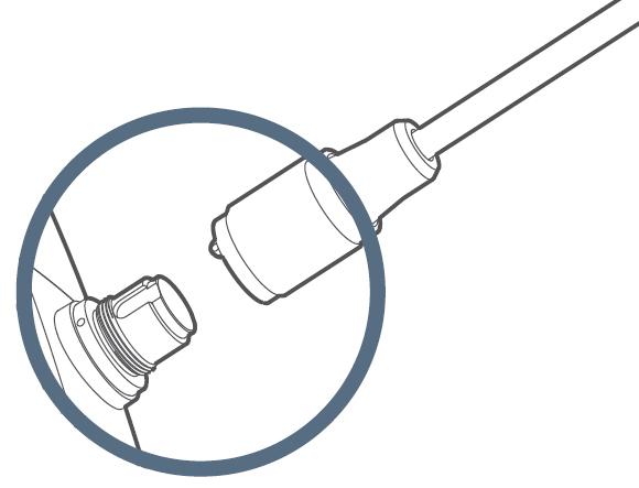 JProbe LT 39-100 Бюджетный видеоэндоскоп , Рабочая длина зонда 1м , Диаметр зонда3.9 мм - фото Концепция сменных зондов jProbe