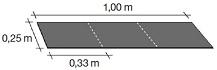 Коньково-карнизная черепица Katepal, Красный (12п/м конька или 20п/м карниза) - фото konek_karniz_gont_chertej.jpg
