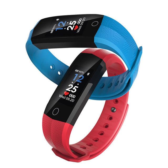 Браслет smart color screen bracelet CD02 с водозащитой (красный)
