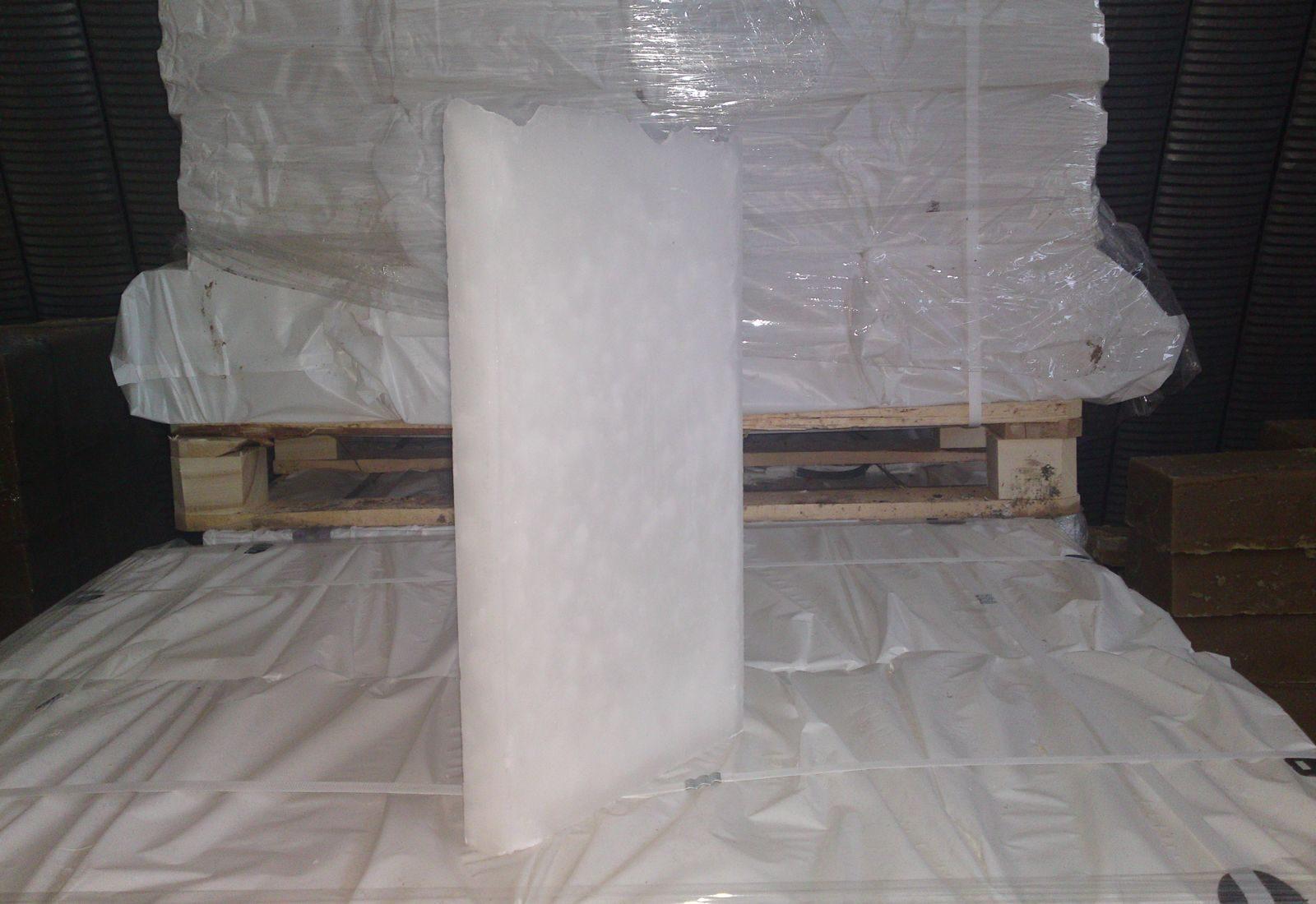 Парафин пищевой П-2 упаковка 8 кг - фото parafin-tverdyy.jpg