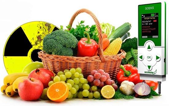 """Экотестер """"СОЭКС"""" тестирует на содержание нитратов 32 вида популярных продуктов"""