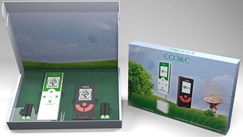 """Набор из экотестера """"Соэкс"""" и детектора полей """"Импульс"""" поставляется в подарочной упаковке (изображение увеличивается по клику)"""