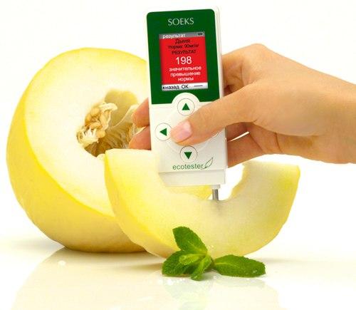 Экотестер поможет избежать потребления вредных продуктов