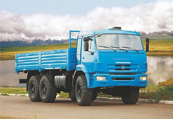 КАМАЗ 43118 фото грузовика