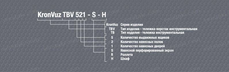 Расшифровка инструментальных шкафов KronVuz