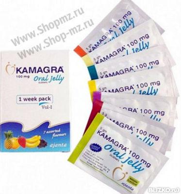 Камагра гель 7 пакетиков (100 мг)
