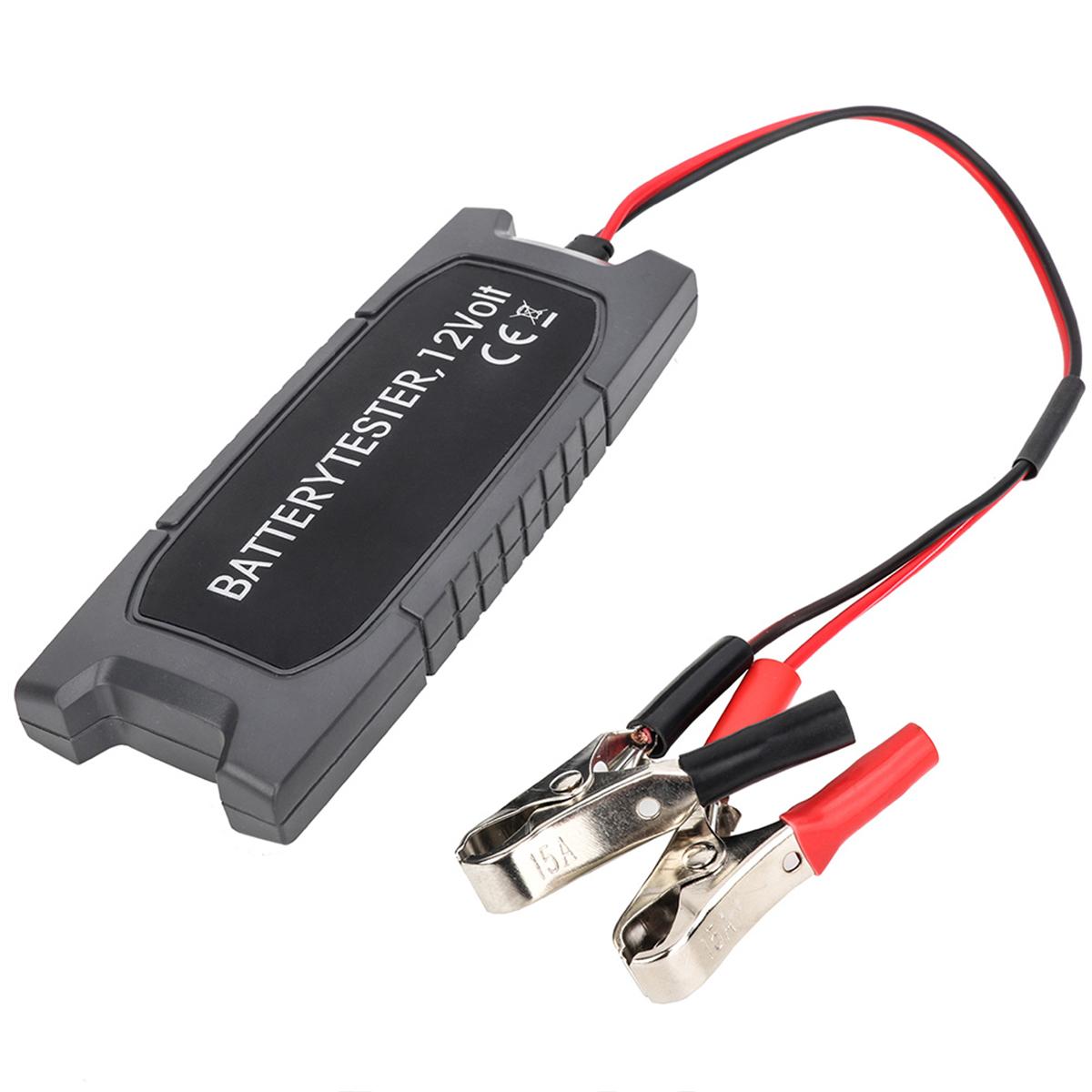 12V Батарея Тестер с 6 LED Диагностическим выводом анализатора проверки генератора Инструмент - фото 3