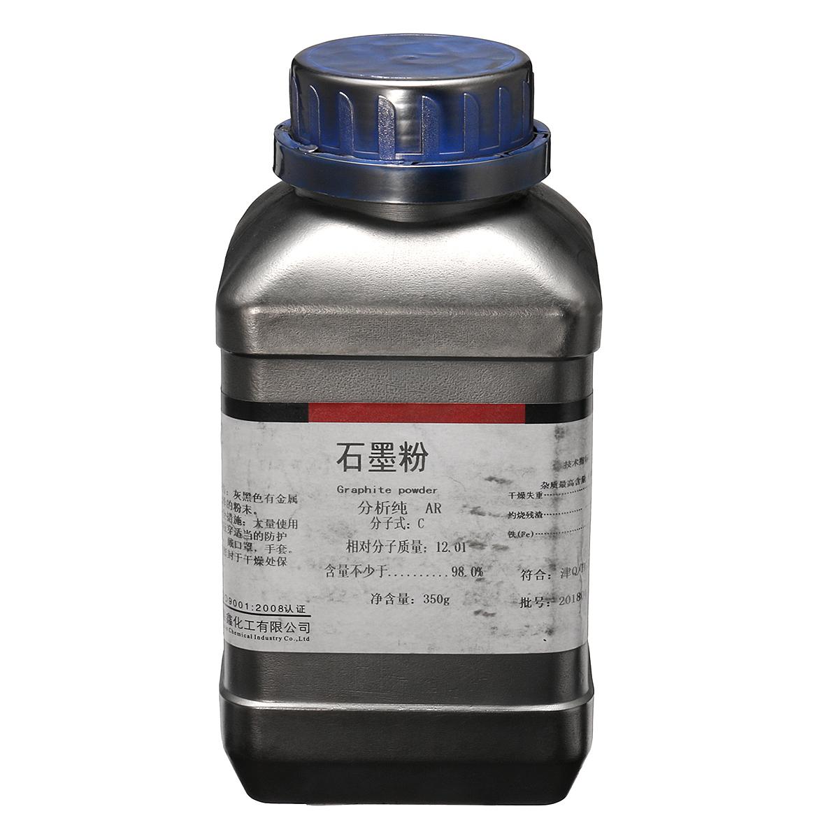 350 г Порошок черного графита 5 Микрона ультра тонкий 99,9% Чистый Военный Сорт - фото 6