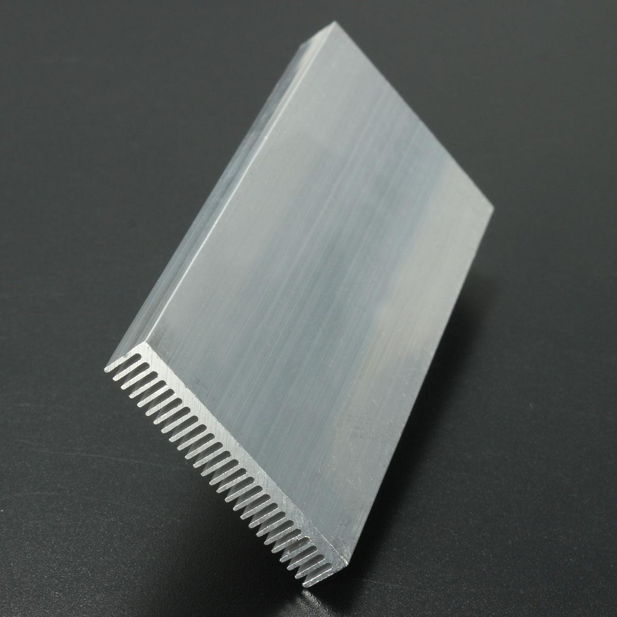 5pcs 100x41x8mm алюминиевый радиатор радиатора радиатора для высокой мощности LED Усилитель Охлаждение транзистора - фото 7