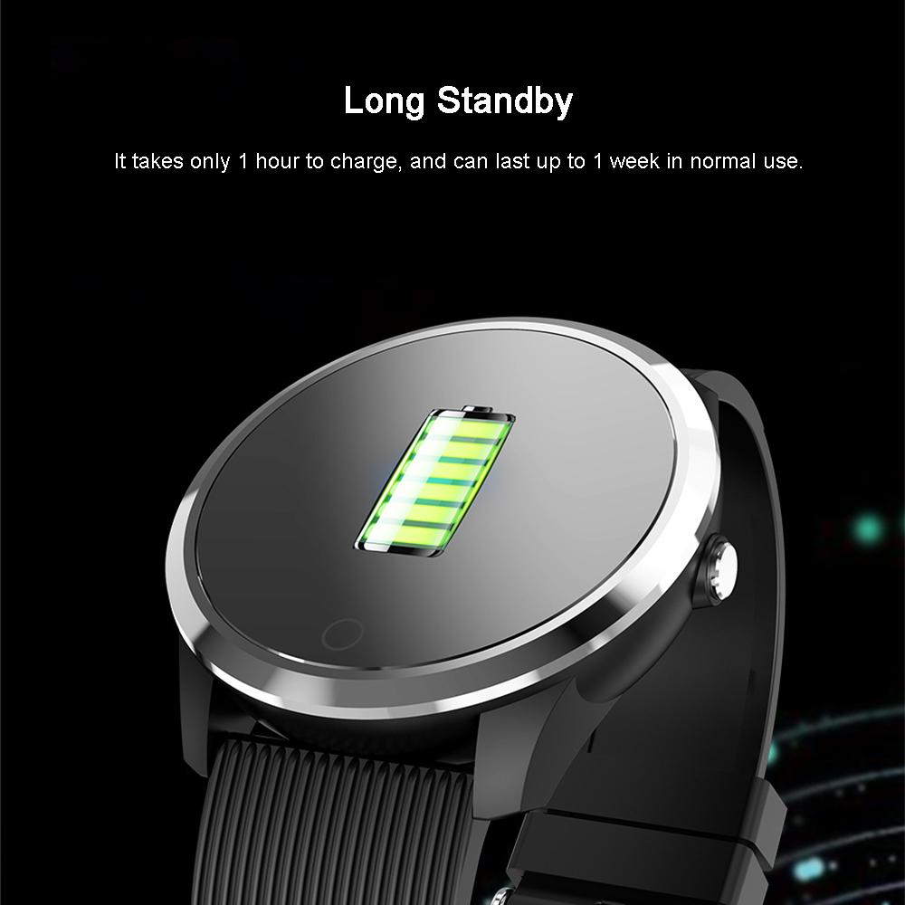 XANES®M011,3-дюймовыйцветнойэкранВодонепроницаемы Smart Watch Find Phone Фитнес Спортивный браслет - фото 6