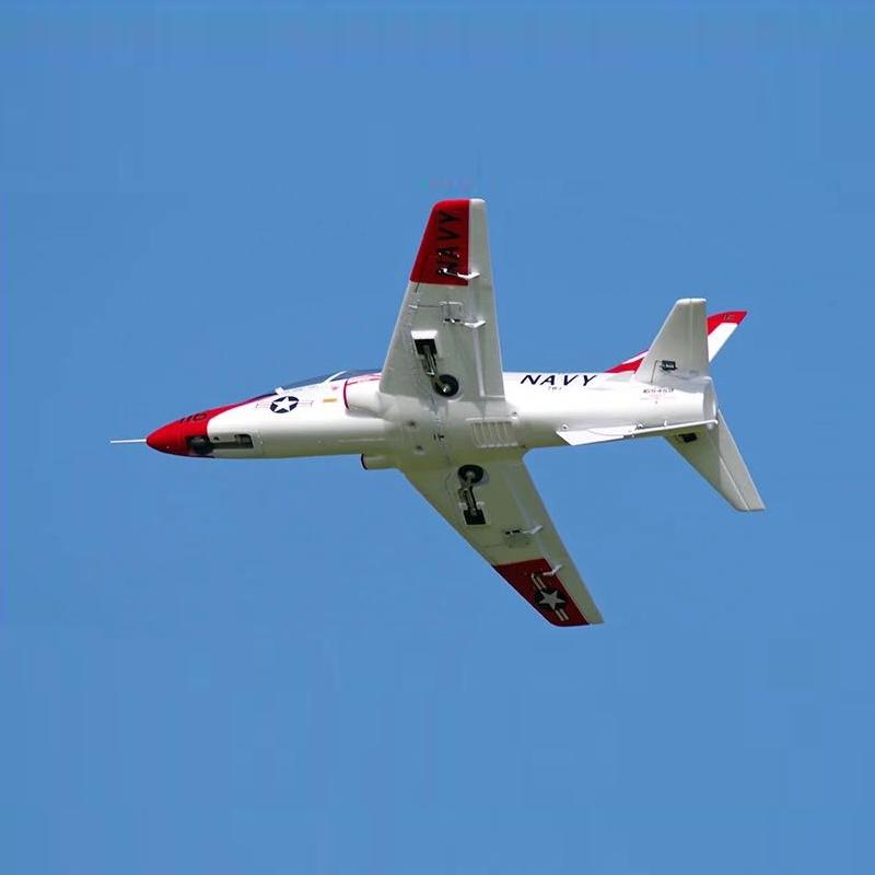 QT-МОДЕЛЬ T45 V2 EPO 960 мм Размах крыльев RC Самолет Jet Шкала Увеличить Зенкованный ястреб с фиксированным крылом PNP - фото 6