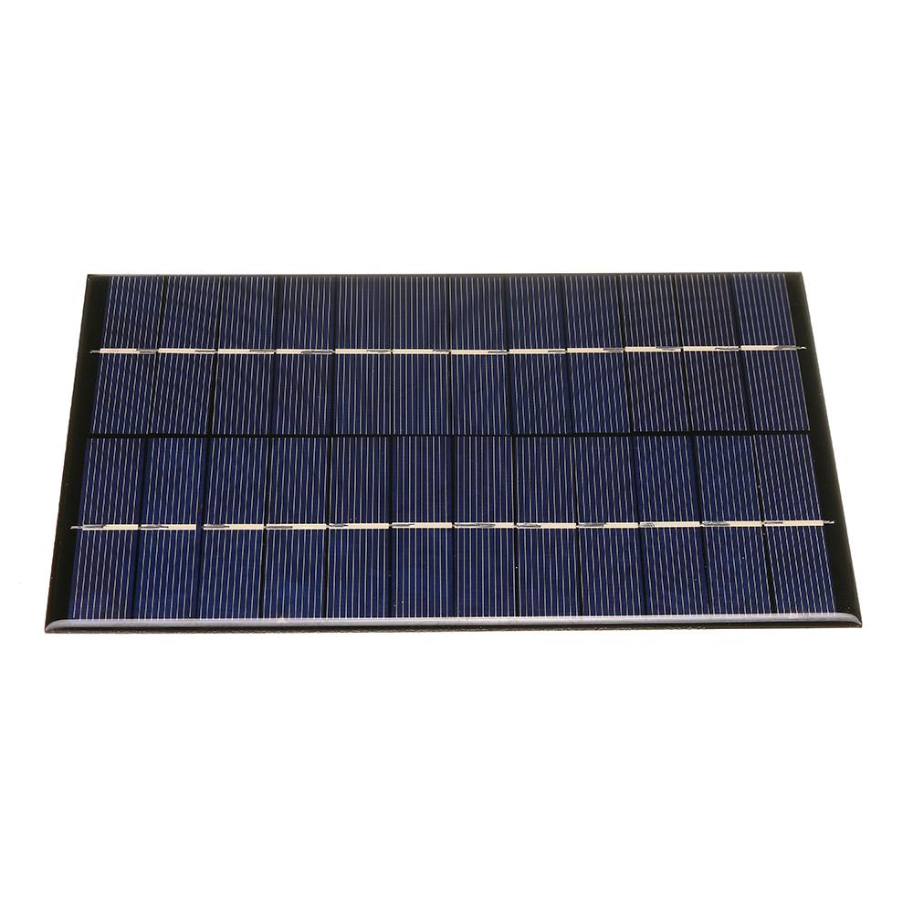 12V 4.2W 130 * 200 мм Портативная поликристаллическая панель Солнечная - фото 2