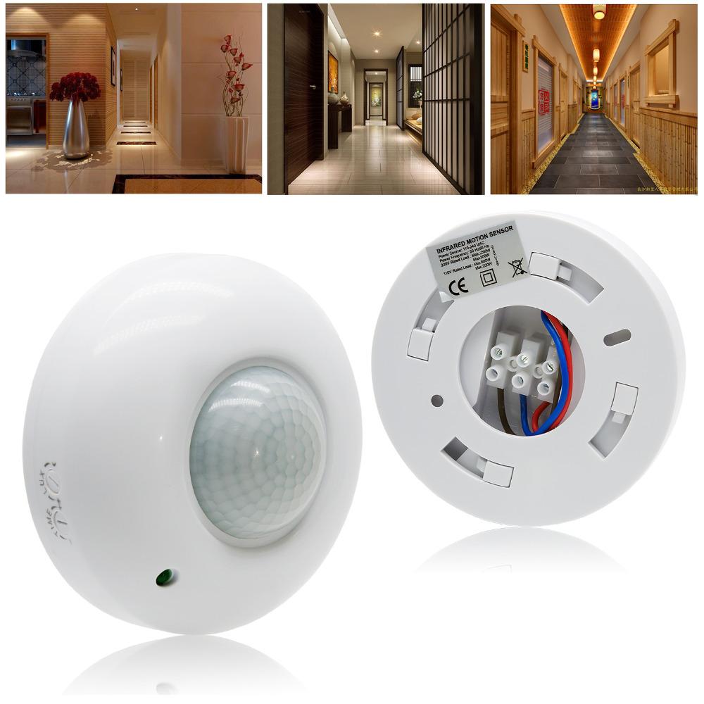 360 ° Автоматическое инфракрасное движение PIR Датчик Переключатель для LED Потолочный светильник AC220-240V - фото 1
