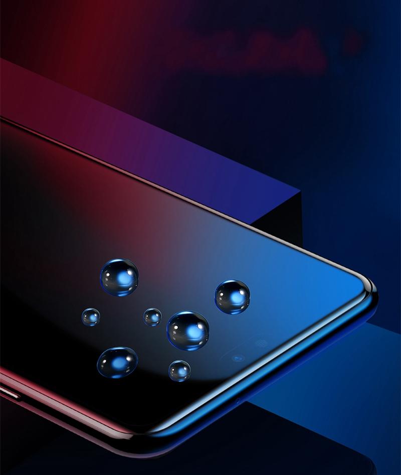 Baseus0,3ммПоверхностныйполноэкранныйтемный стеклянный протектор экрана для Xiaomi МИ8 - фото 6