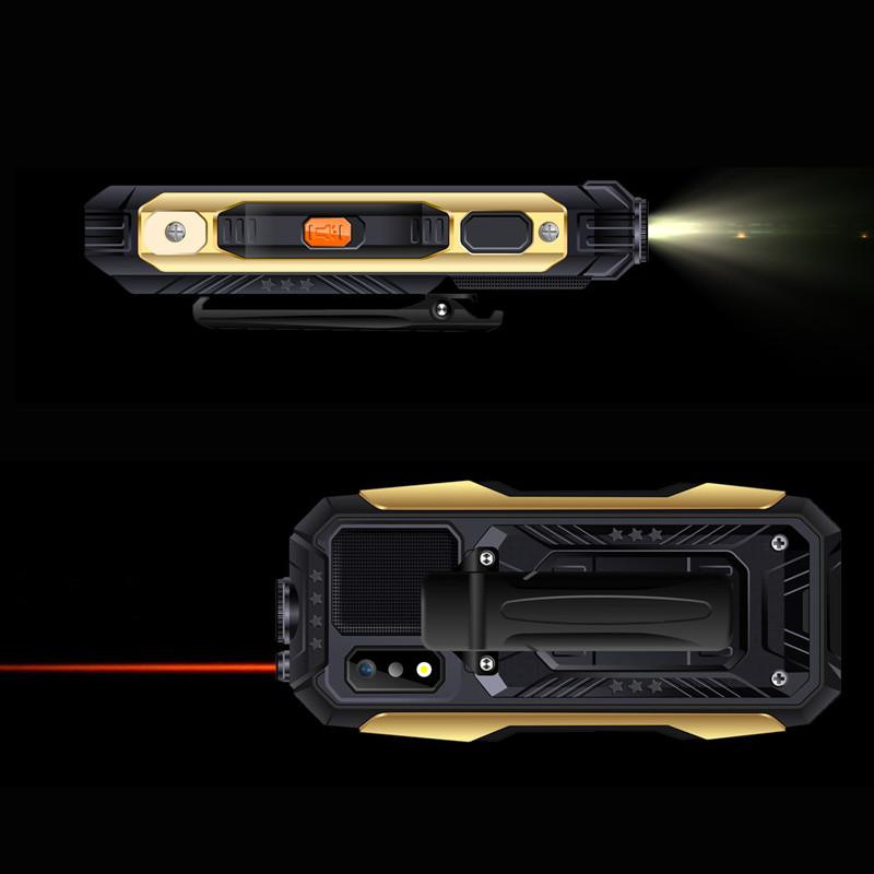 SERVO X7 2.4  4000mAh Антенна Аналоговое изменение голоса телевизора Лазер Фонарик OTG 3 SIM-карты с функцией телефона - фото 3