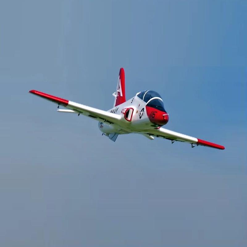 QT-МОДЕЛЬ T45 V2 EPO 960 мм Размах крыльев RC Самолет Jet Шкала Увеличить Зенкованный ястреб с фиксированным крылом PNP - фото 3