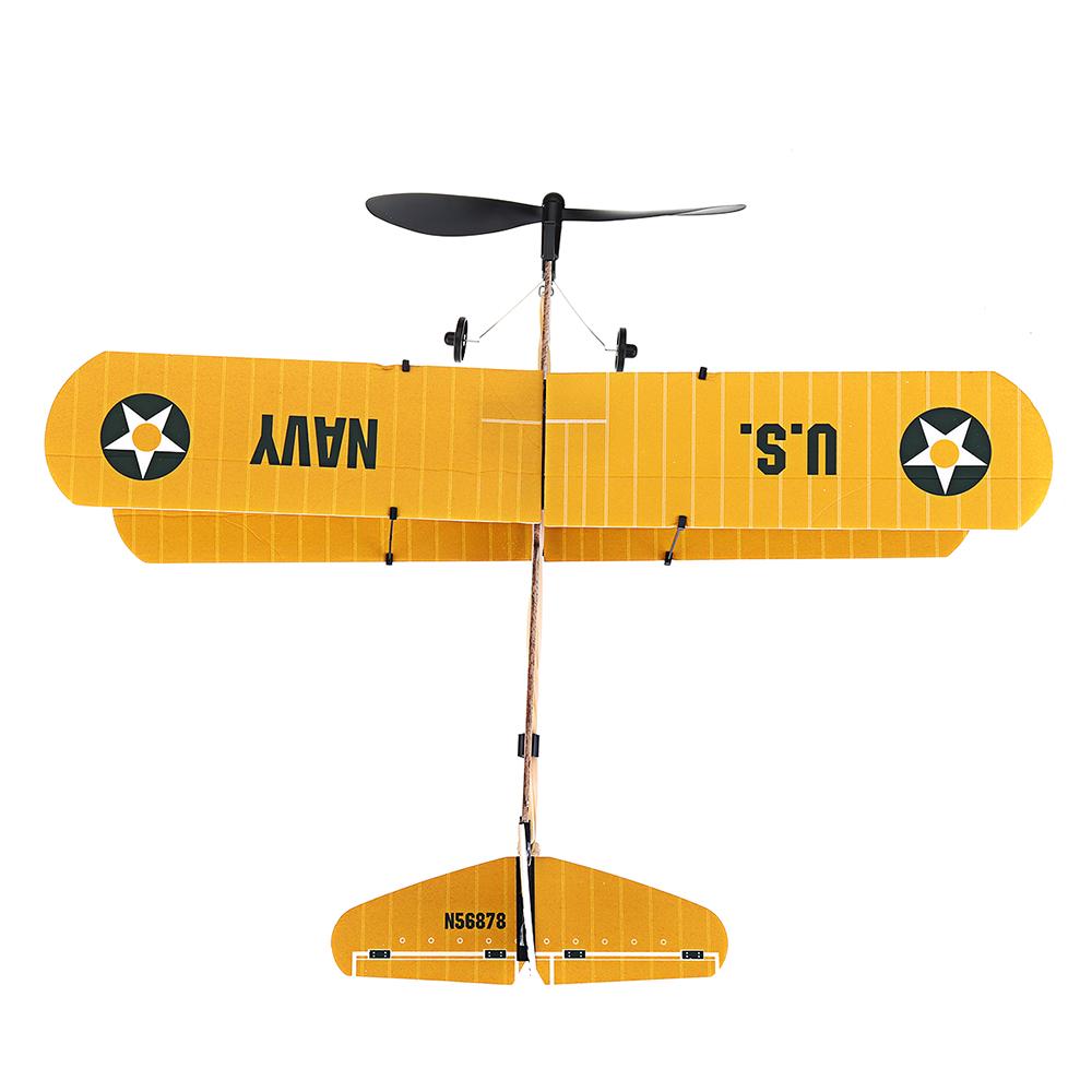 Модель STEM ZT 18 дюймов STEARMAN Rubber Стандарты Модель самолета с воздушным двигателем - фото 7